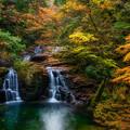 Photos: 荷担滝