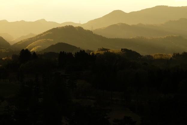 山並み輝く