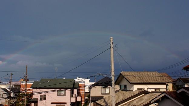 虹なんて見たの何年ぶりかしら