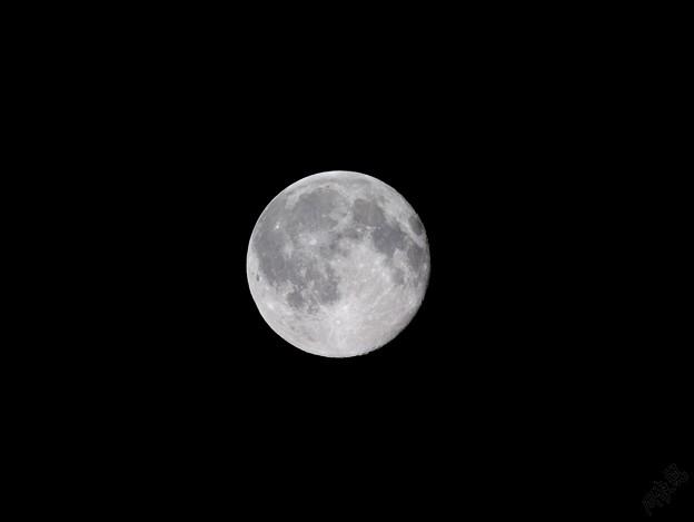 2021年1月の満月