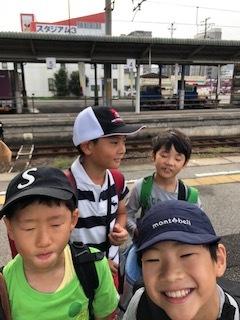 3班 電車に乗車!!!2