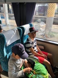 3班 電車に乗車!!!4