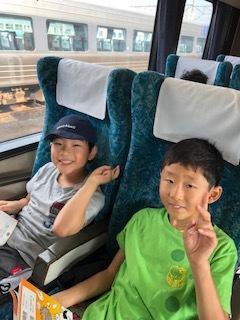 3班 電車に乗車!!!5