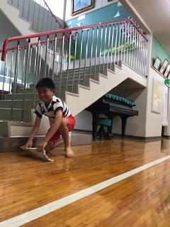 雑巾がけレース!!!1