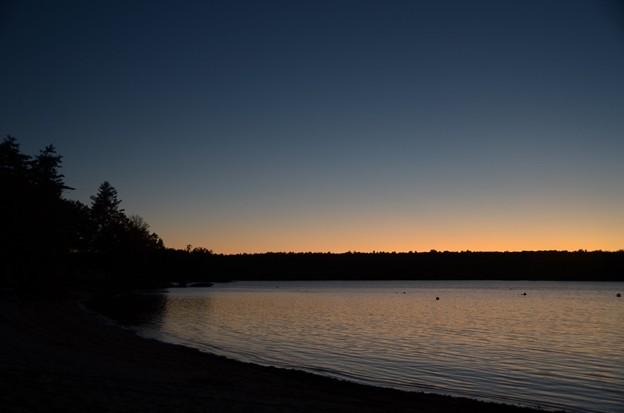 写真: Blue Hour of the Basin I 10-20-17