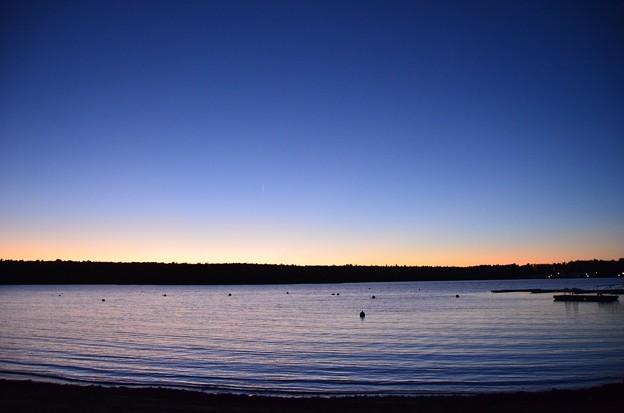 写真: The Blue Hour of the Basin III 10-20-17