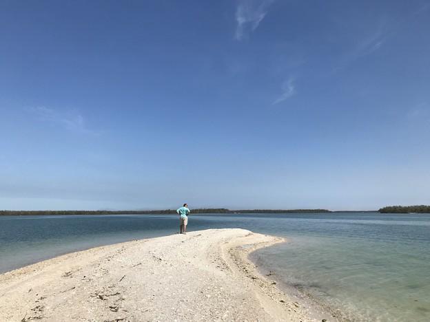 写真: Private Beach 3-25-18