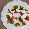 写真: Caprese Salad 7-3-18