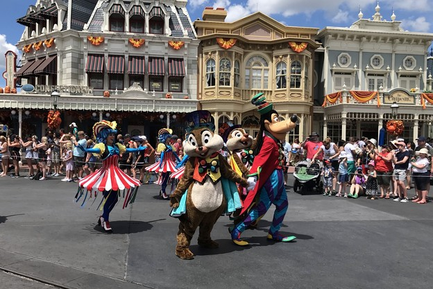 Chip, Dale and Goofy 8-20-18