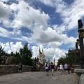 写真: Cinderella Castle 8-22-18