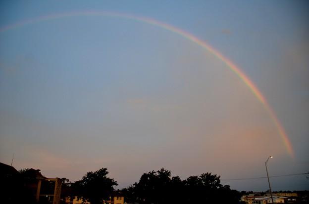 Photos: Morning Rainbow 11-4-18