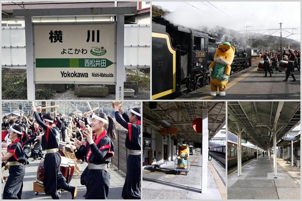 よこかわ駅 2019-1-12