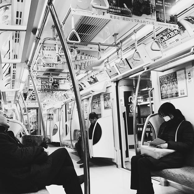 Photos: 土曜の朝の銀座線 2019-1-12