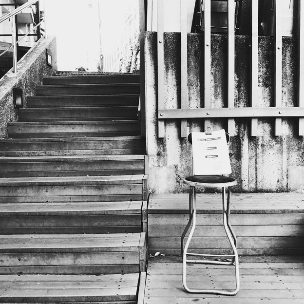 坂の階段 2019-1-11