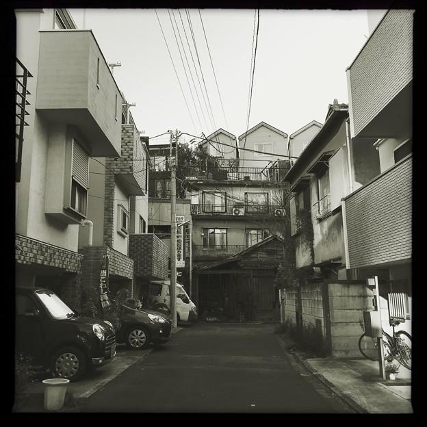 小山町の路地1 2019-1-24