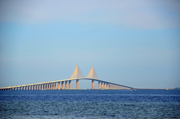 Photos: Sunshine Skyway Bridge 3-24-19