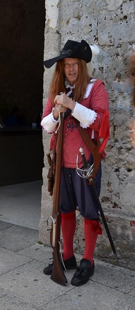 Spanish Soldier of 17th Century 5-11-19