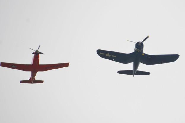 Legacy Flight T-6B Texan II and FG-1D Corsair 11-3-19
