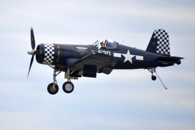 FG-1D Corsair Landing 11-3-19