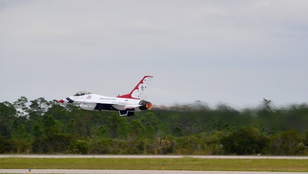 No5 Low Transition Takeoff with Afterburner 11-3-19