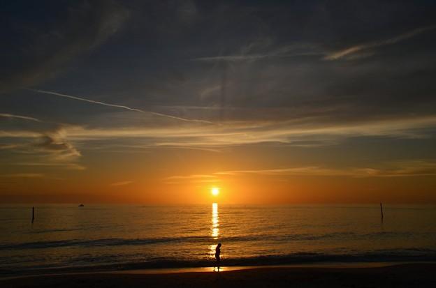 Sunset on Englewood Beach 2-11-20