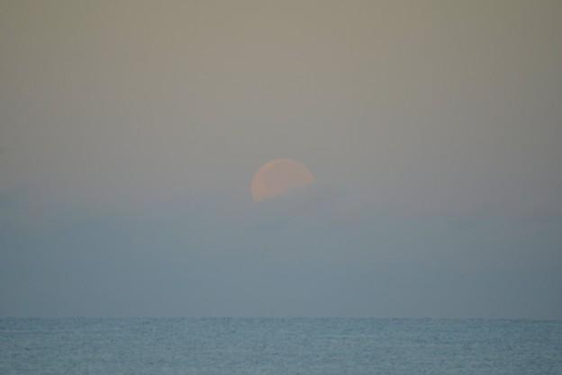 Photos: Moonset 9-2-20