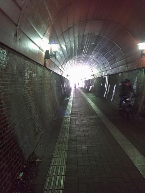 写真: 舞鶴 廃線跡のトンネル