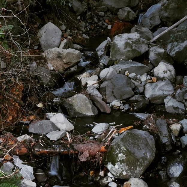 小さな流れ  山水