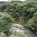 小原スパッシュランド大吊橋からの風景