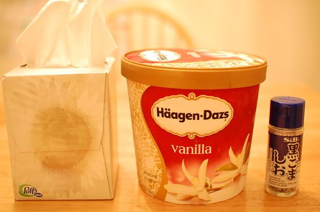 写真: ハーゲンダッツアイスクリーム半ガロン