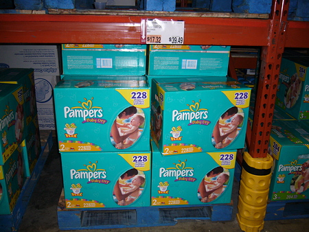 Pampers Size2