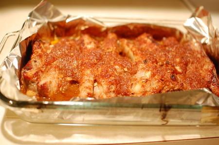 豚肉のスペアリブオーブン焼き(焼き上がり!)