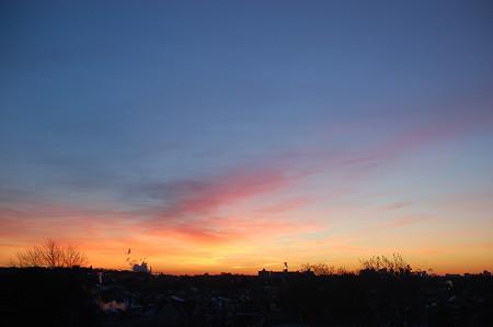 冬の朝焼け1