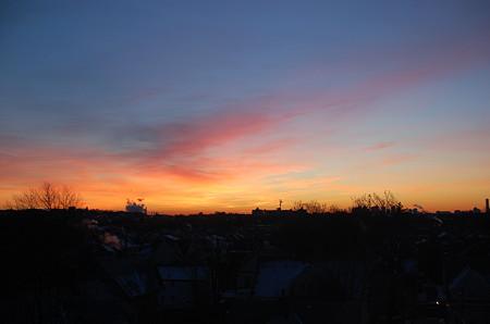 冬の朝焼け2