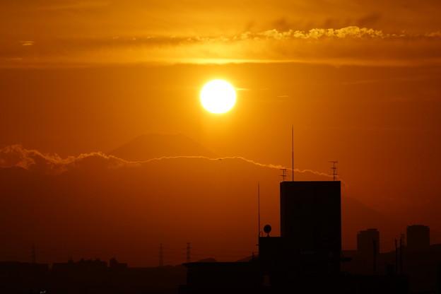 日本の夕日