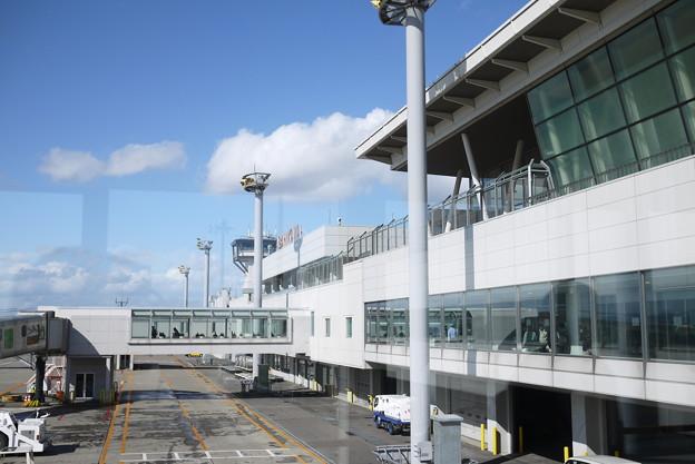 近代的な旭川空港@北海道一人旅