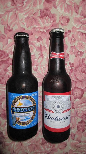 網走ビールとバドワイザー共に期限切れから7年・・・_20200517