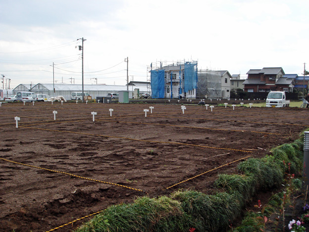 平塚市金田市民農園開園準備1