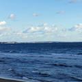 相模湾の半島側