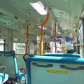 写真: 神奈川中央交通バスの車内