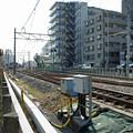 写真: 江ノ電を歩く18