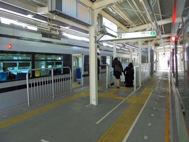 西鎌倉駅のホーム