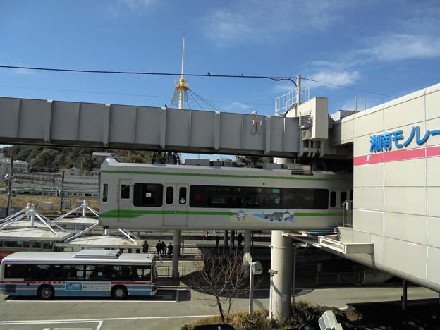 湘南モノレール大船駅発着ホーム