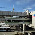 写真: 湘南モノレール大船駅発着ホーム
