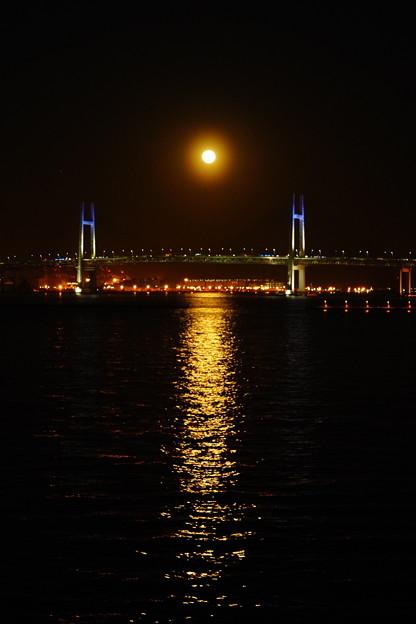 写真: 月の出