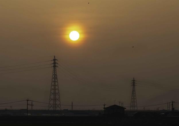 PM2.4の朝景