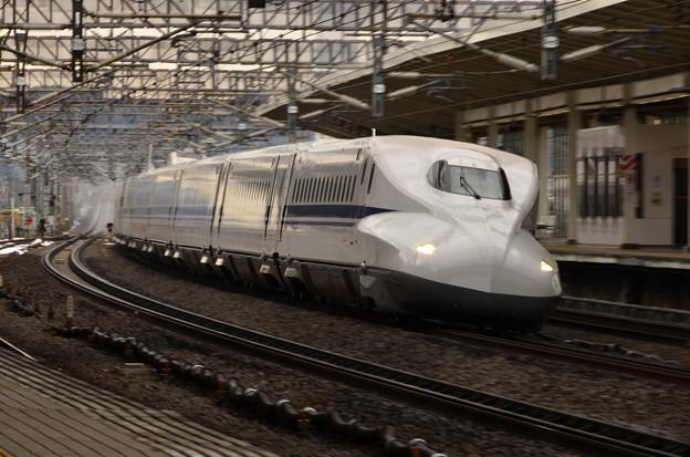 米原駅にて
