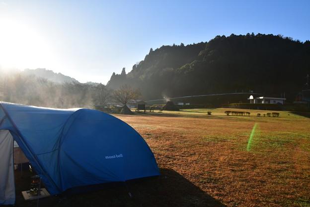 Photos: 寒い朝