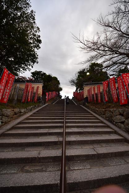 冬に向かう階段
