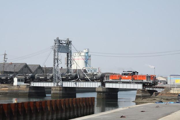 DD51 セメント輸送(末広橋梁)